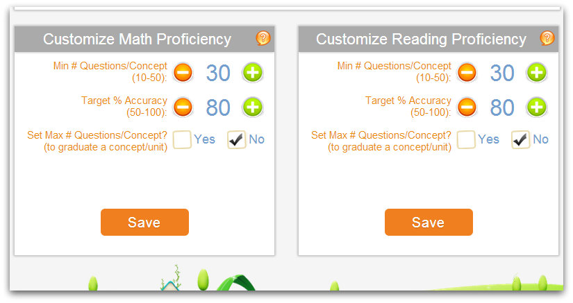 Customize Proficiency